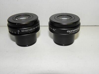 One Set of Olympus WHSZ15X-H/16 Eyepieces