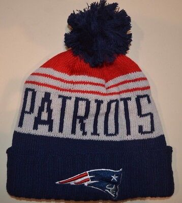 f4a12c78b4ac9 NEW ENGLAND PATRIOTS 2015 TOM BRADY New Era Sport Knit Winter Hat ...