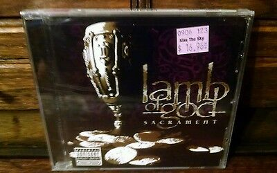 Lamb Of God 2006 Sacrament - Cd Sealed Nip - Original