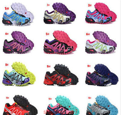 Donna Salomon Speedcross 3 Sneakers Outdoor Running escursione Scarpe sportive A