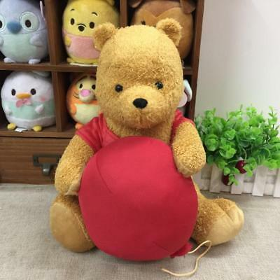 Disney Christopher Robin Plush Doll Winnie The Pooh with balloon 30cm