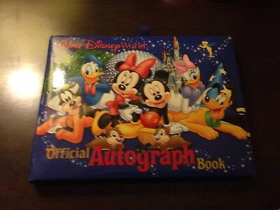Walt Disney World Official Autograph Book Park Authentic Original New