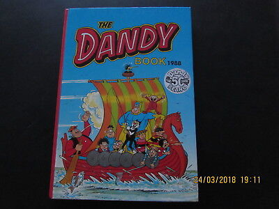 The  Dandy    Book    1988  Very Good For Age