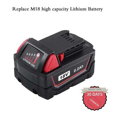 Replace for Milwaukee M18 LITHIUM 48-11-1815 XC 6000mAh Battery 2730-20 2767-20