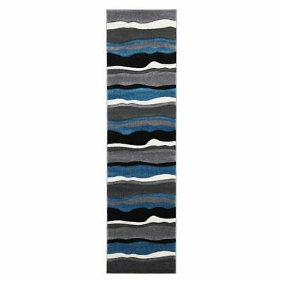 NEW Rug Culture Icon Storm Blue Cloud Runner Rug