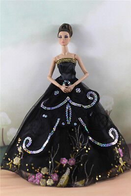 Fashion Party Dress/Wedding Clothes/Gown For 11 in. Doll d33