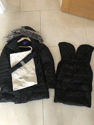 Seraphine 3 In 1 Maternity Winter  Coat Size 10-12