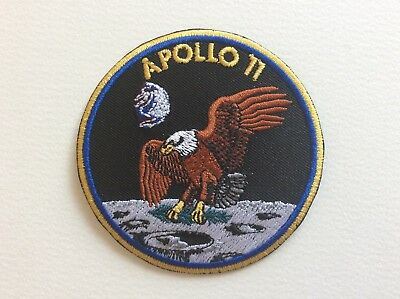 A273 Patch Ecusson Apollo 11 8 Cm