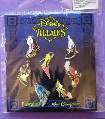 Disney Trading pins Villains shoes  booster set