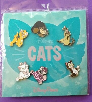 Disney Trading pins Disney Cats booster set