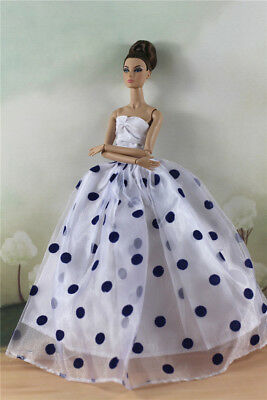 Fashion Party Dress/Wedding Clothes/Gown For 11 in. Doll d42