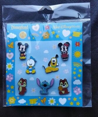 Disney Trading pins Walt Disney World  booster set