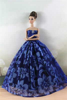 Fashion Party Dress/Wedding Clothes/Gown For 11 in. Doll d65