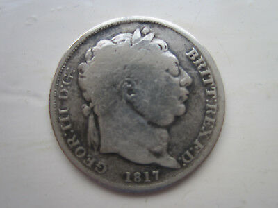 6 Pence - George III 1817 in nice condition                           G