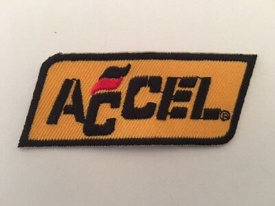 A395 Patch Ecusson Accel 7,5*3 Cm