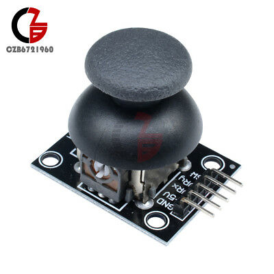 2PCS 5Pin JoyStick Breakout Module Shield PS2 Joystick Game Controller