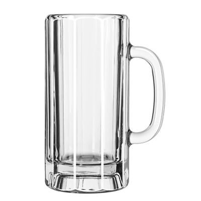 Libbey 5327 Clear 22 Ounce Paneled Mug - 12 / CS