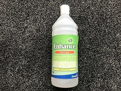 Diversey Enhance Chewing Gum Sticky Stuff Remover Wool Safe 1 Litre Carpets BR