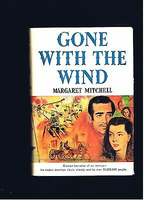 Magaret Mitchell ~ Gone With The Wind ~ Macmillan 1936 Movie Ed. ~ Ex Cond