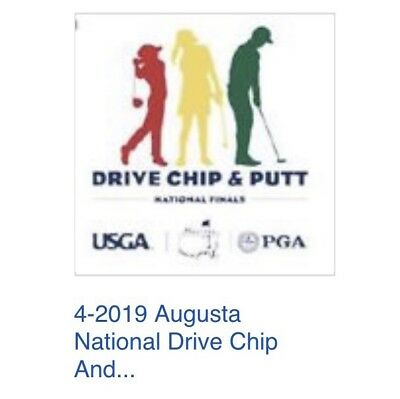 Augusta National Drive Chip and Putt National Finals 2019 Tickets