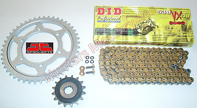 Suzuki GSF1250 Bandit DID Gold X-Ring Chain & JT RB Front & Rear Sprockets Kit