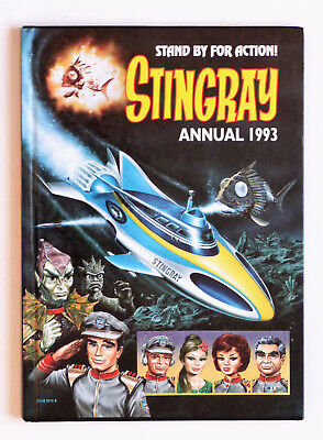 Stand By For Action... Stingray Annual 1993: Hardback Book. Very Good Condition.