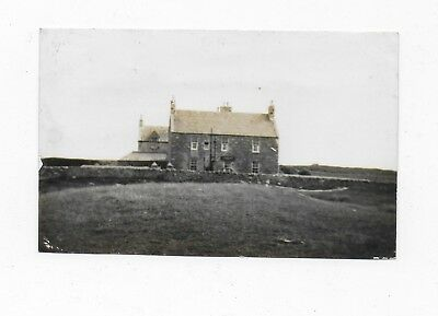 Benbecula South Uist Outer Hebrides Creagorry Hotel Rp Postcard 1930S