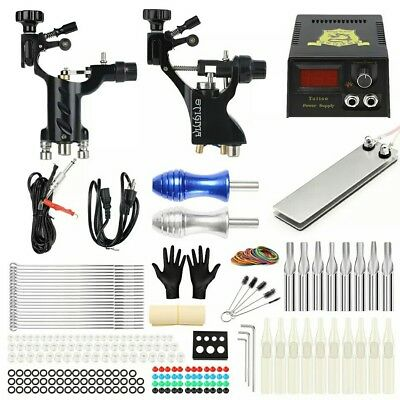 Solong Tattoo Kit Complet Professionnel 2 Machines