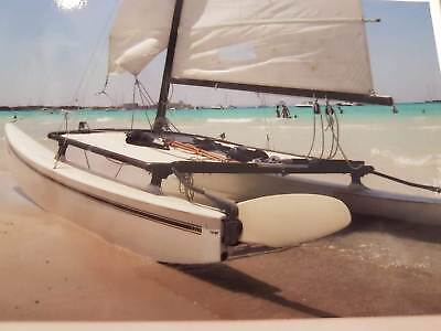 Hobie Cat 16 - Hot Cat 2 - Catawest Katamaran Segelboot Boot Mallorca Spanien