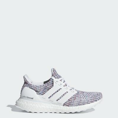 731335c28296f Adidas Women Running Ultra Boost 4.0 White Multi Red Lifestyle Gym New  DB3211