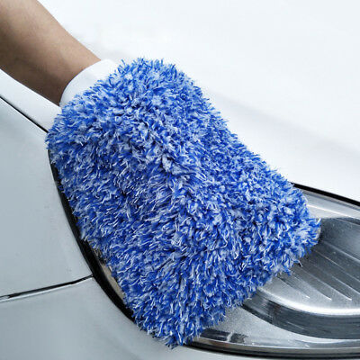 Car Care Glove Plush Soft High Density Microfiber Wash Mitt Car Cleaning Strict