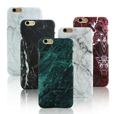 Granite Marble Style Phone Case Cover for iPhone 5 5S 6 SE 6S 7 Plus Cases tall