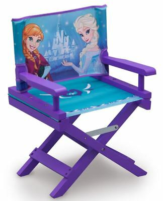 Delta Children Disney Frozen Directors Chair, Kids Movie Star Chair ANNA & ELSA