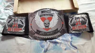 Hit man   Championship Wrestling Leather Belt