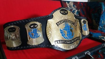 World Heavy Weight  Championship Wrestling Leather Belt