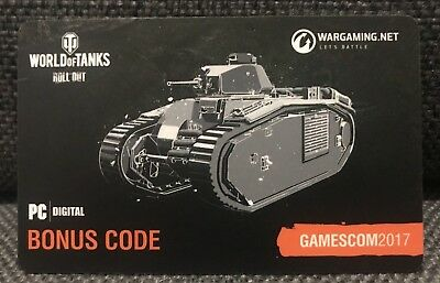 World of Tanks | Bonus Code PZ.KPFW.IV I Gamescom 2017