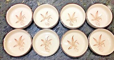 8 Vintage Winfield Pottery China-Passion Flower Bowls- Excellent Condition