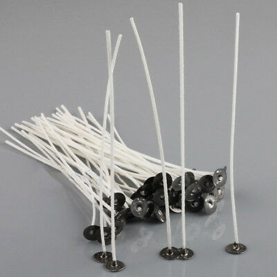 20cm 8 inches pre waxed Candle Wicks 50pcs Cotton Core For candle making NON