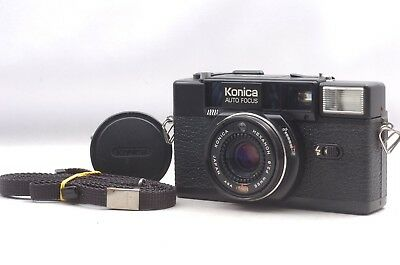 @ Ship in 24 Hours! @ Discount! @ Konica C35 AF2 Film Camera Hexanon 38mm f2.8