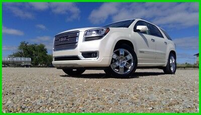 2013 GMC Acadia Denali 2013 Denali Used 3.6L V6 AWD SUV Bose 1 owner local trade in DVD Dual Sunroof!
