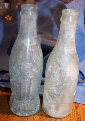 Old Coke and Soda bottle (602)