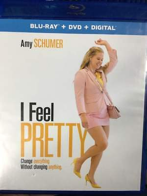 I Feel Pretty Blu-Ray No DVD/Digital/Slip Like New FAST FREE Combine SHIPPING