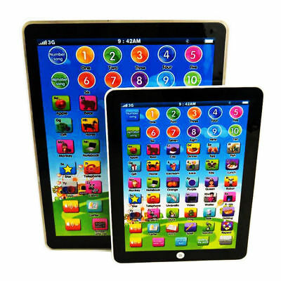 Kids Children TABLET PAD Educational Learning Tool Toys Gift For Boys Girls Baby