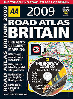 Very Good AA Publishing, AA Road Atlas Britain (AA Atlases and Maps) (AA Atlases