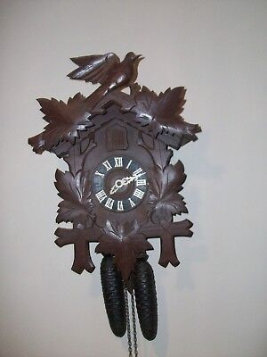 Large Old Cuckoo clock