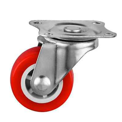 Universal 4Pcs 40mm Diameter Chair Caster Wheels for Office Coffee Table