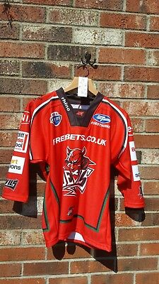 CARDIFF DEVILS Ice Hockey jersey - size: 2XS