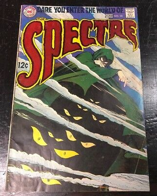 The Spectre #10 (DC, 1969) FN+(6.5) OW/W PAGES Last Issue