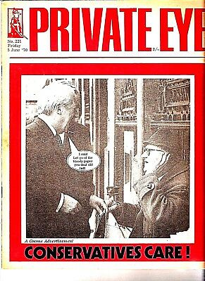 Private Eye Mag # 221  5 June 1970  Edward Heath MP  Arundells, Salisbury, Wilts
