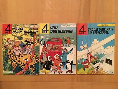 Die4, Band 11,12,14, Hardcover, Z1, 1988-89